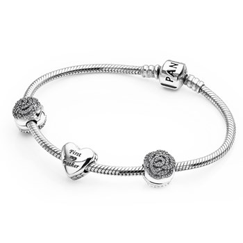 PANDORA Bouquet of Love Bracelet Gift Set LIMITED QUANTITIES!-801-667