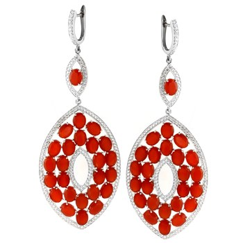347207-Carnelian Earrings