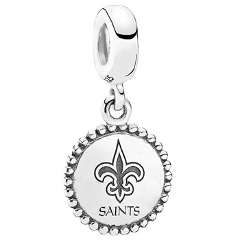 346560-PANDORA New Orleans Saints NFL Hanging Charm
