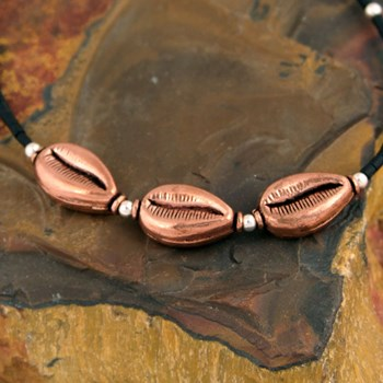 Copper Shell Necklace-323529