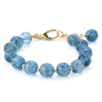 344853-Lollies Blue Quartz Bracelet