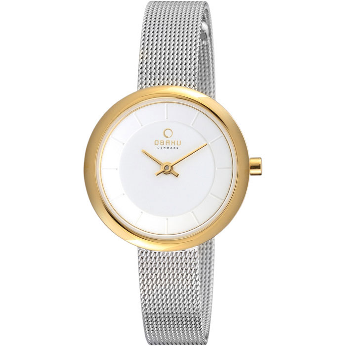 500-23-Obaku Women's Stainless Steel Watch