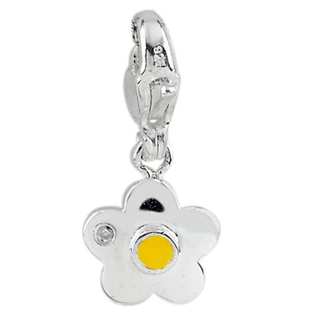 332966-Flower Charm with Diamond