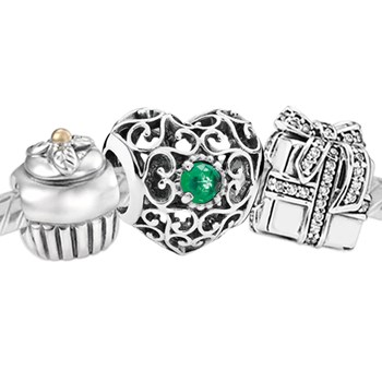 3382-PANDORA Happy May Birthday Set