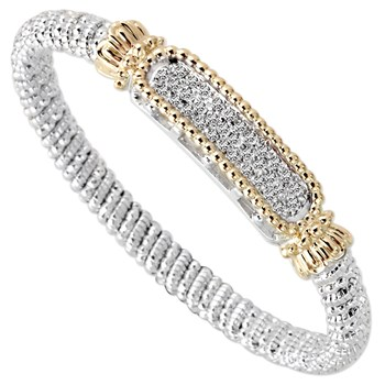 344534-Framed Diamond Bracelet