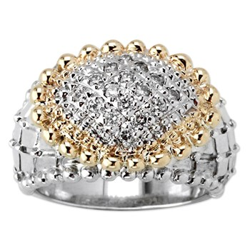 Quilted Diamond Ring-345390