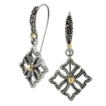 Cross Earrings-645-3169