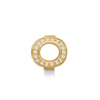STORY by Kranz & Ziegler Gold-Plated Infinity Ring Button