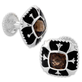 Smokey Quartz Cufflinks-335567