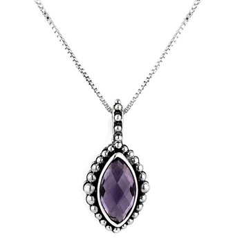 February Secret Admirer Birthstone Necklace 342758