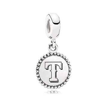 345459-PANDORA Texas Rangers Baseball Charm RETIRED ONLY 5 LEFT!