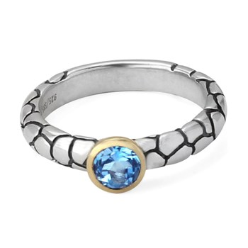 348722-75% OFF Blue Topaz