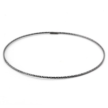 Ruthenium Wire Bangle-343612