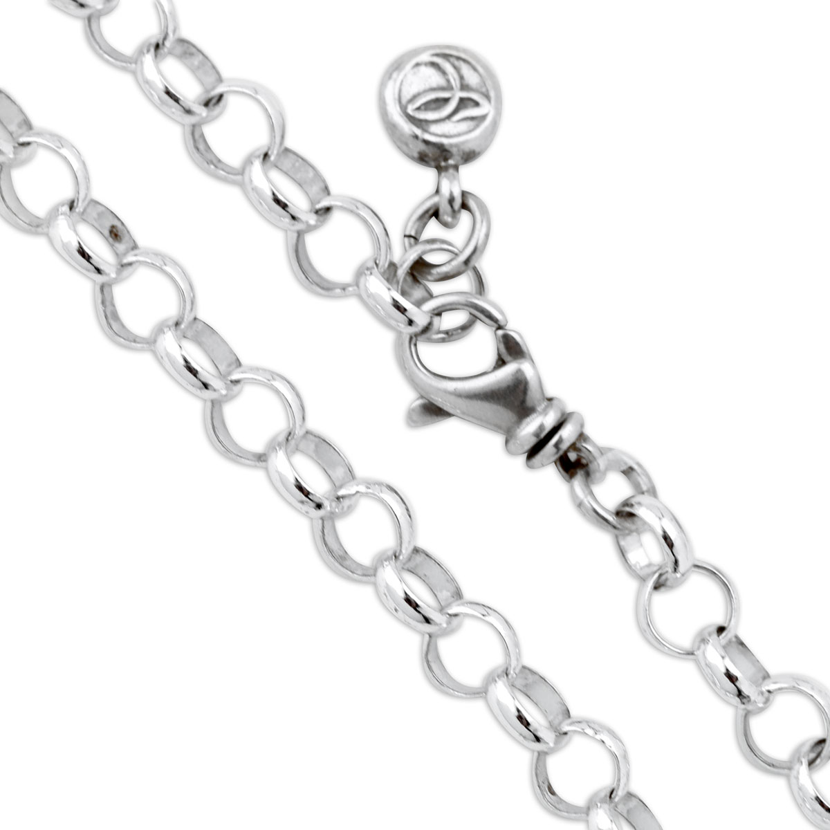 330008-Sterling Silver Rolo Chain