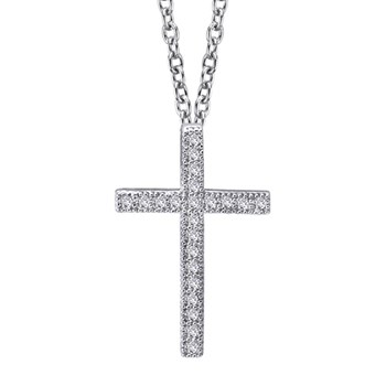 Classic Cross Necklace-341275