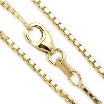 Heavy Octabox 14kt Yellow Gold Chain-342048