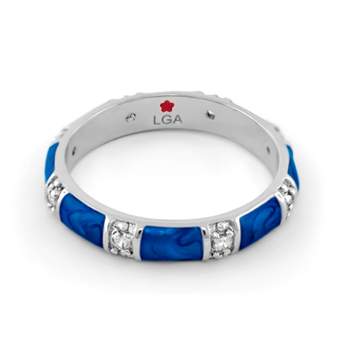 Blue 'Santa Barbara' Ring