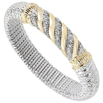 345028-Twist Diamond Bracelet