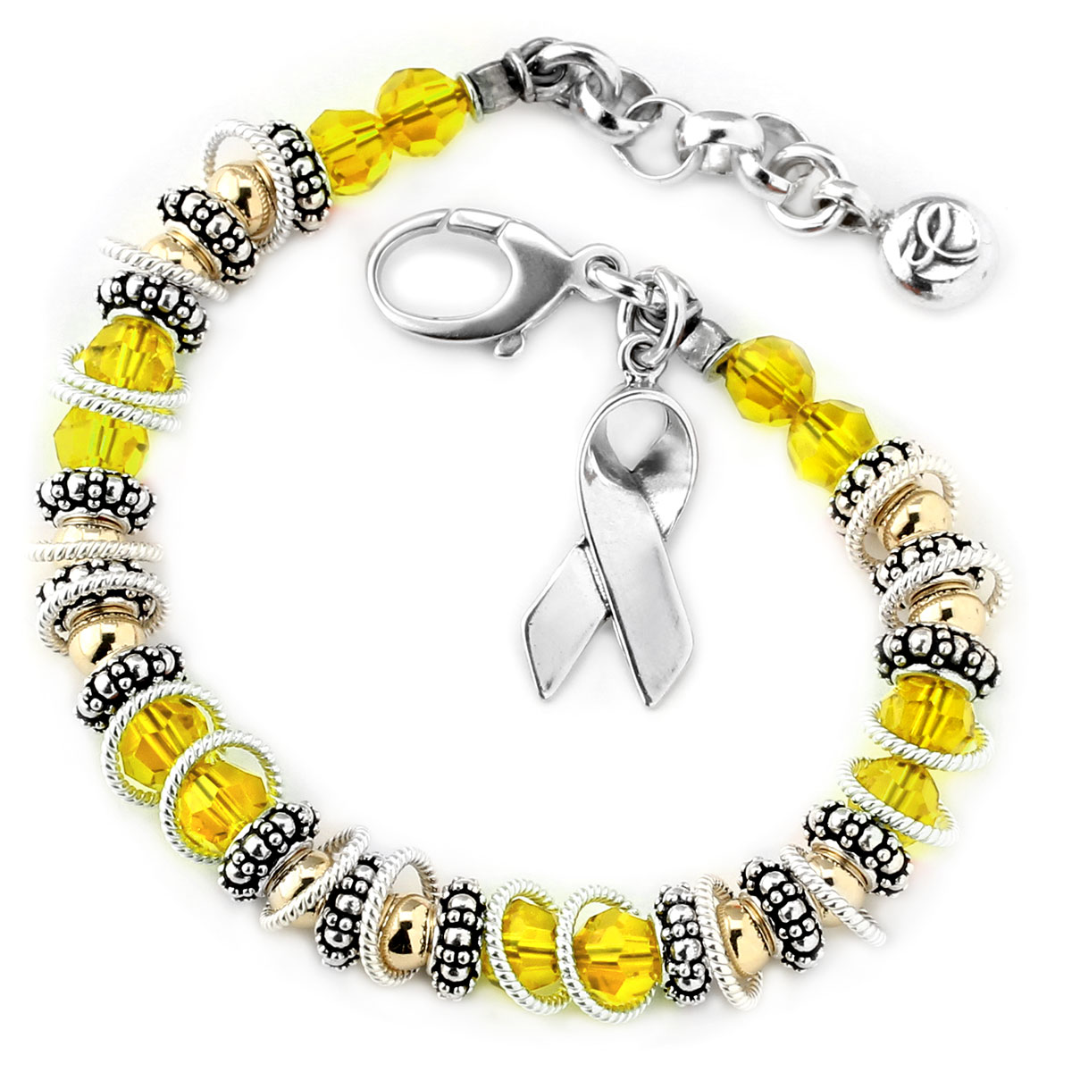 222433-Liver/Bladder/Sarcoma Cancer - Spectacular Awareness Bracelet