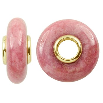 Storywheels Rhodonite 14K Gold Wheel-291675
