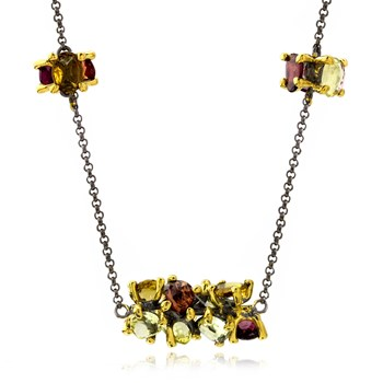 Multi-Color Necklace-655-3416