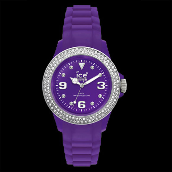 337872-Ice Purple Stone Watch-ONLY 4 LEFT!