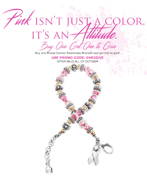 Breast Cancer Awareness Bracelet Promotion