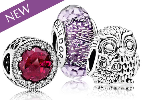PANDORA New Charms and Jewelry