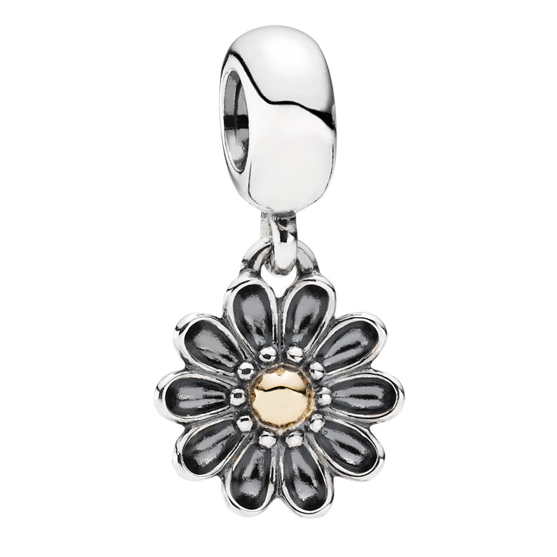 PANDORA Oopsie Daisy with 14K Charm *PANDORA Store Exclusive*-344346 RETIRED LIMITED QUANTITIES!