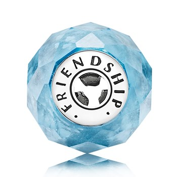 PANDORA ESSENCE Friendship Blue Charm