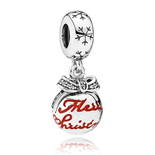 PANDORA Merry Christmas Bauble Charm