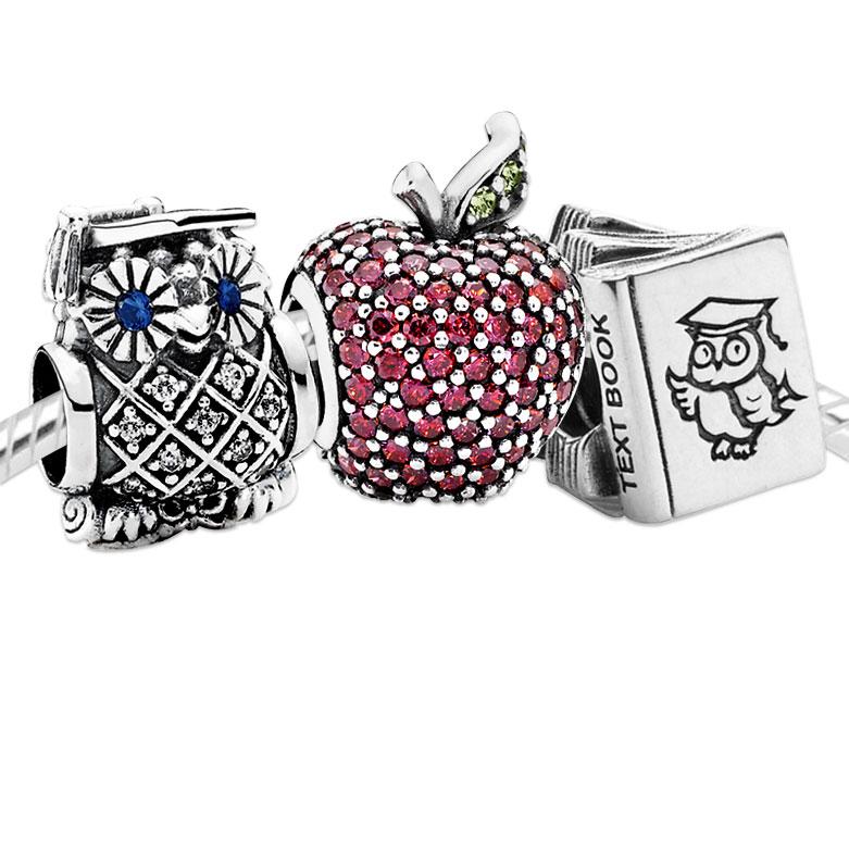 Graduation Charm Pandora Pandora Bracelet Complete