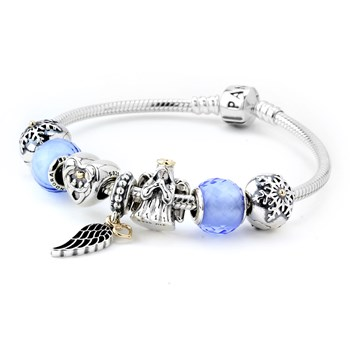 1279-PANDORA Reason for the Season Charm Bracelet