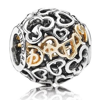 PANDORA Disney Dream with 14K Charm RETIRED 802-1434