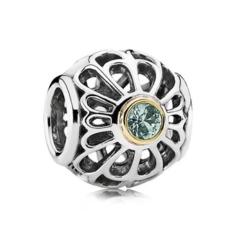 344218-PANDORA Vintage Allure Openwork Charm RETIRED LIMITED QUANTITIES!