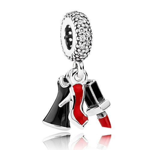 PANDORA Glamour Trio Dangle Charm