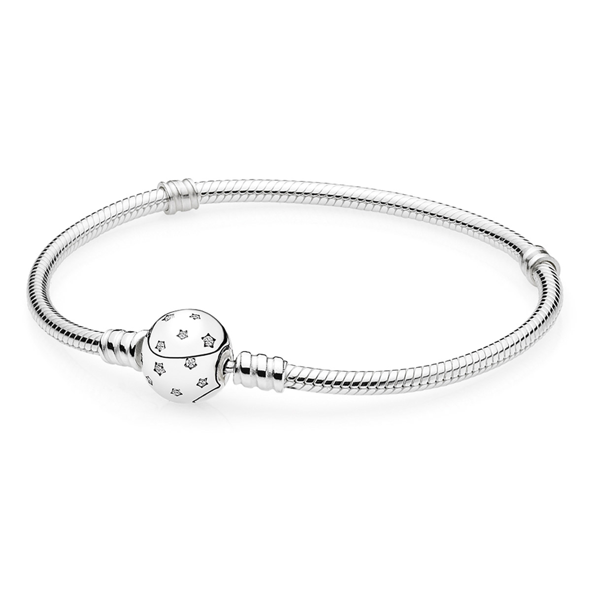 PANDORA Starry Sky Clasp with Clear CZ Bracelet