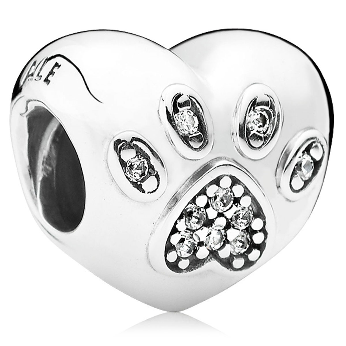 802-3037-PANDORA I Love My Pet Charm