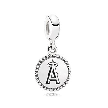 PANDORA Los Angeles Angels Baseball Charm RETIRED ONLY 1 LEFT!-345467