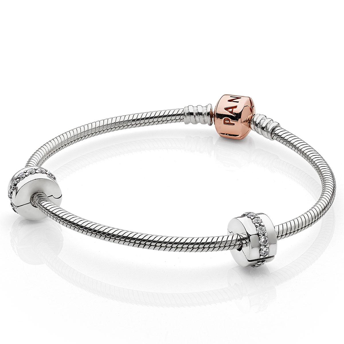 pandora armband set rose