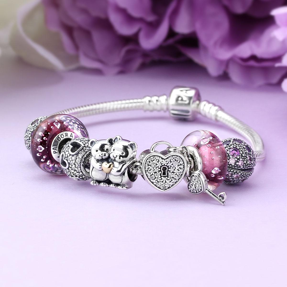 Charm Bracelet Ideas: Finished Pandora Bracelet