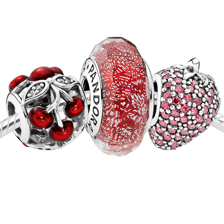 PANDORA Red Ripened Set