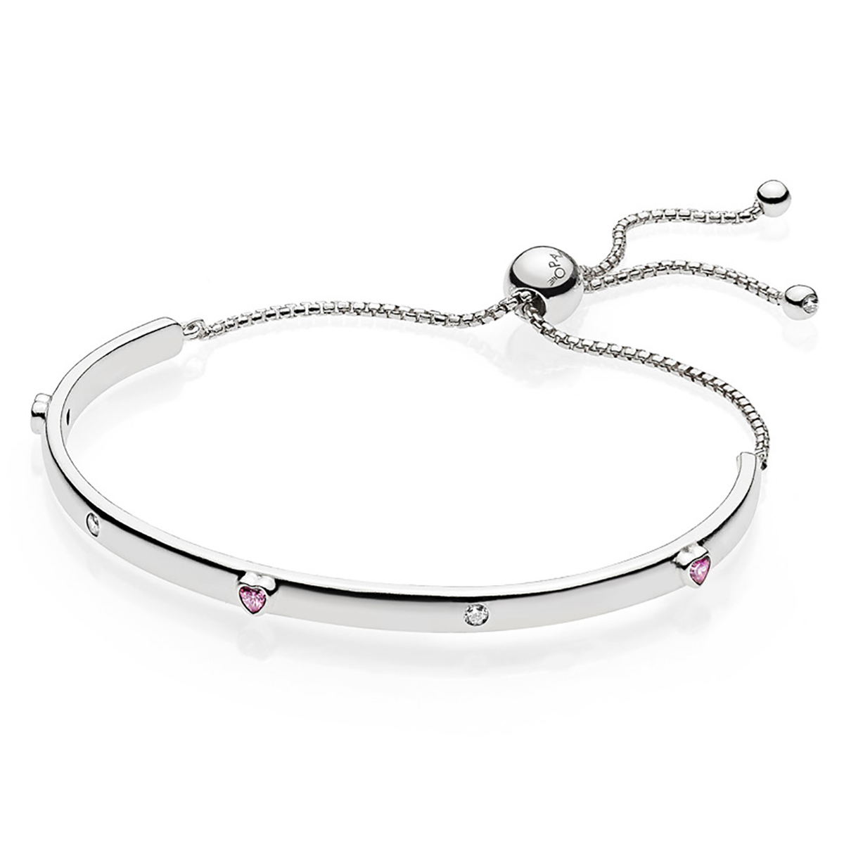 Pandora Women Silver Bangle - 597242CZ-2 K0Q9uzTGDw