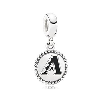 345444-PANDORA Arizona Diamondbacks Baseball Charm RETIRED ONLY 4 LEFT!