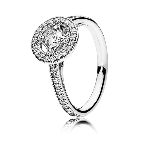 Vintage Allure with Clear CZ Ring PANDORA