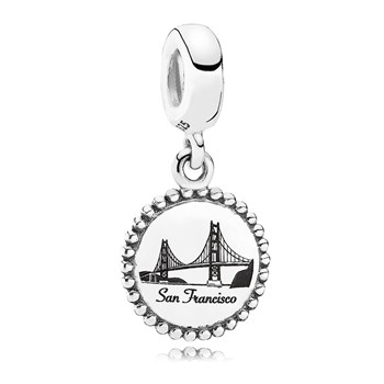 PANDORA San Francisco Traveler Dangle RETIRED ONLY 2 LEFT!