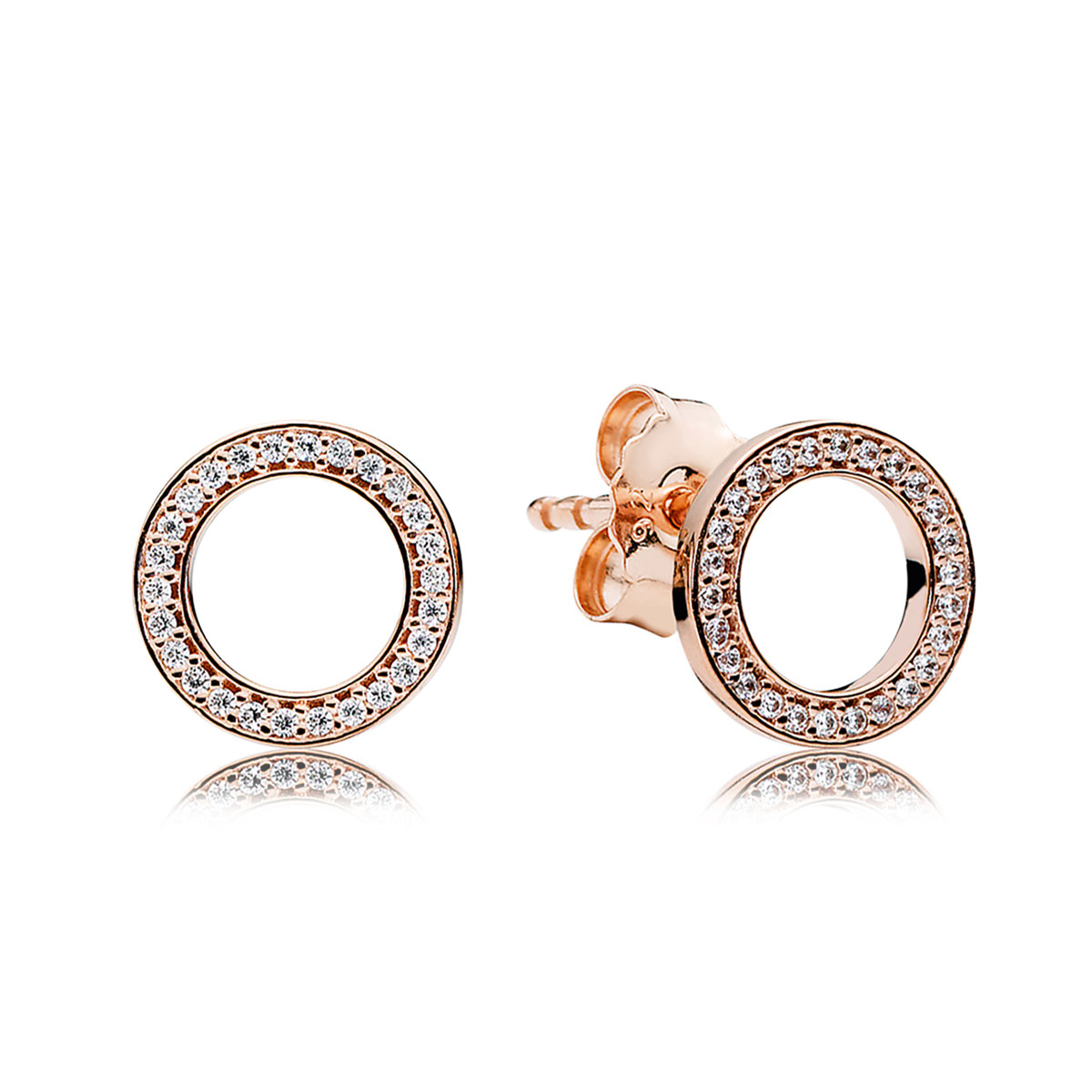 58a0dc729 ... pandora rose forever pandora with clear cz earrings DAZZLING DROPLETS  ...