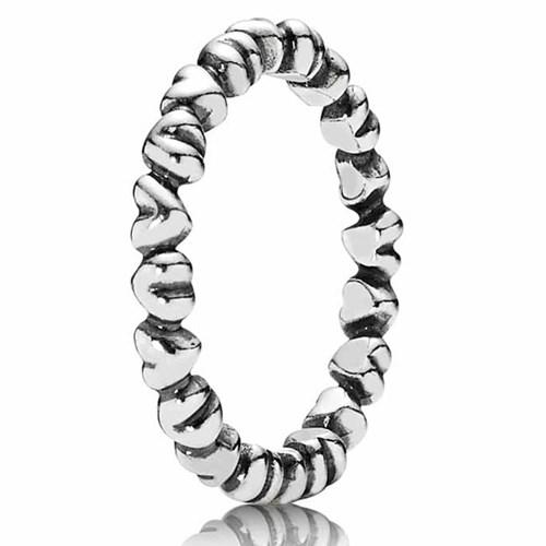 5afc58169 PANDORA Forever Love Stackable Ring-190837 - Pancharmbracelets.com