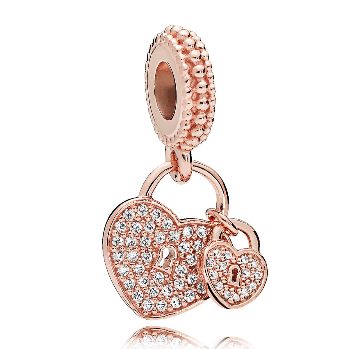 pandora charms rose gold