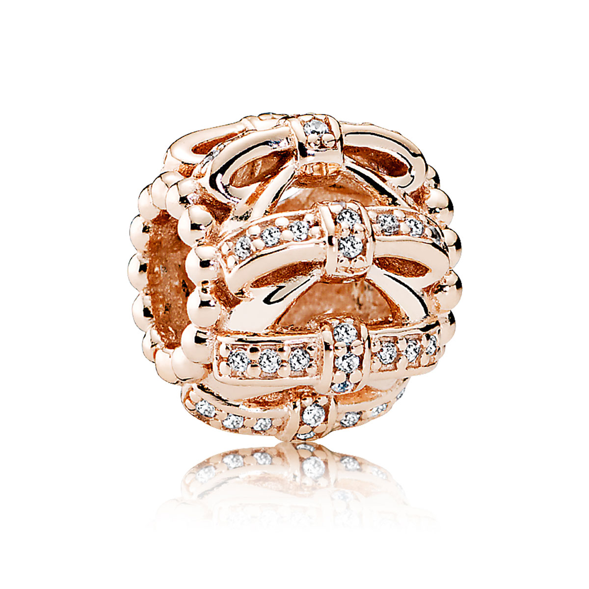 PANDORA Rose™ Shimmering Sentiments with Clear CZ Charm